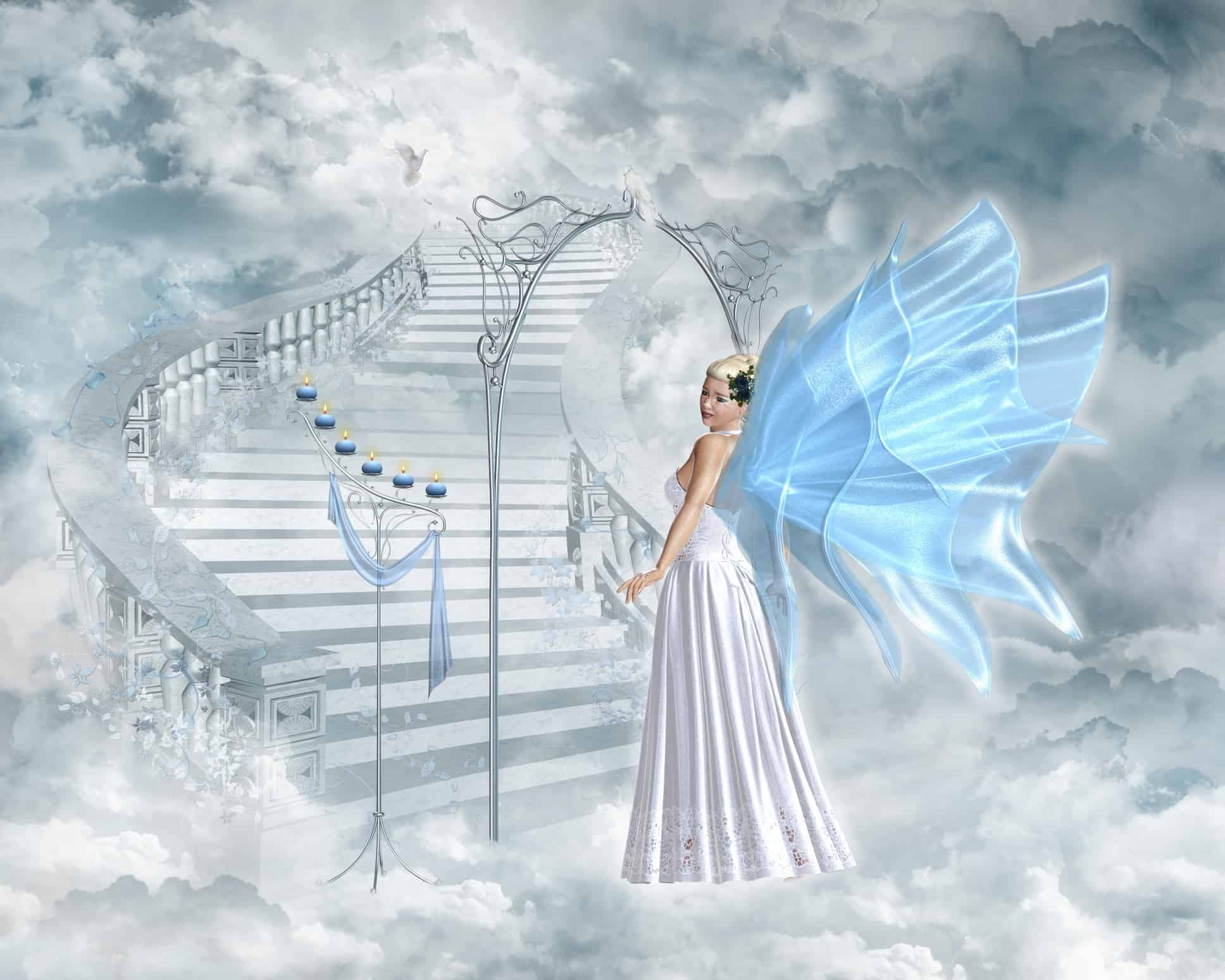 spirit world heaven dreamstime_m_18629525