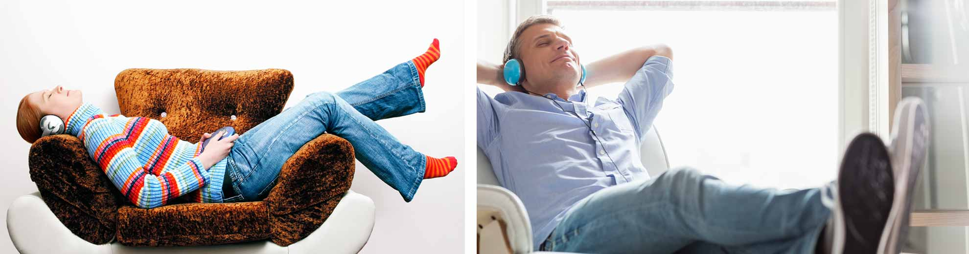 woman-and-man-listening-to-personalized-hypnosis-recordings