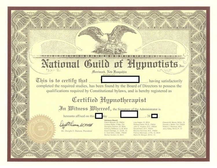 Become an NGH Certified Hypnosis Practitioner | Long Island, NY Classes